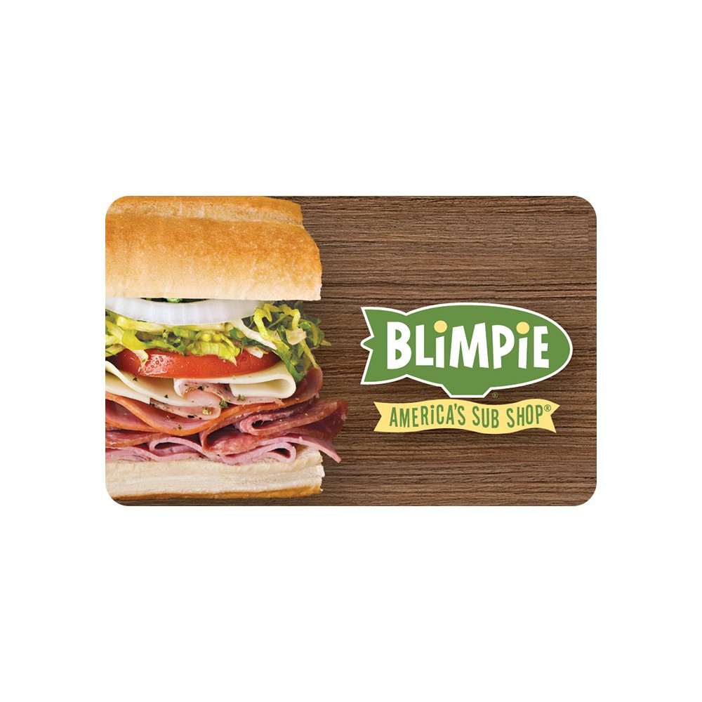 Blimpie Gift Card (Email Delivery) Blimpie Gift Card (Email Delivery)