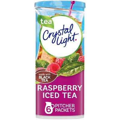 Crystal Light Raspberry Iced Tea Drink Mix - 6pk/1.6oz