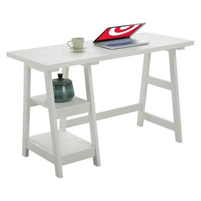 Trestle Desk White - Breighton Home : Target