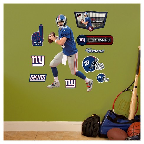"New York Giants Fathead® Decorative Wall Art Set - 40""x3""x3"" - image 1 of 1"