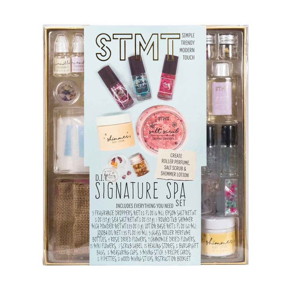 Image of STMT DIY Signature Spa Perfume & Salt Scrub Set
