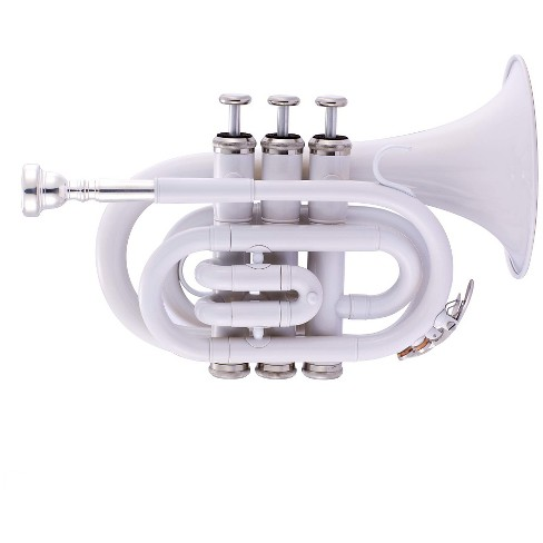 Ravel RPKT1 Pocket Trumpet - White - image 1 of 1