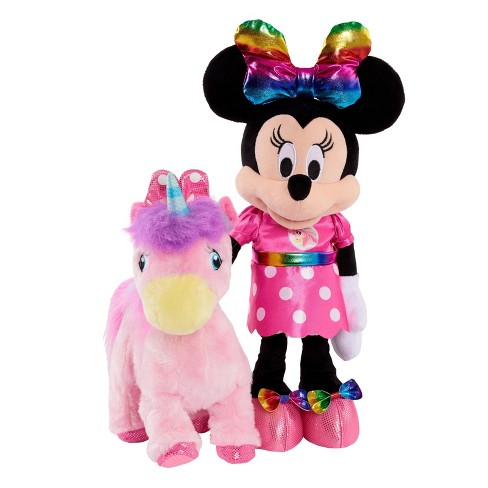 Disney Minnie Mouse Dance With Me Pony Plush - image 1 of 4
