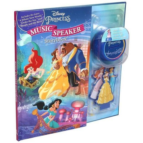 Disney Princess Music Speaker - (Music Player Storybook) (Hardcover) - image 1 of 1