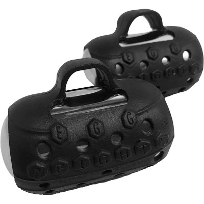 Egg Weights Knockout 4.0 lb Set, Weighted Shadow Boxing Glove Handheld Dumbbell