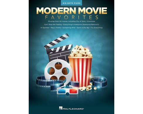 Modern Movie Favorites -  (Big-note Piano) (Paperback) - image 1 of 1