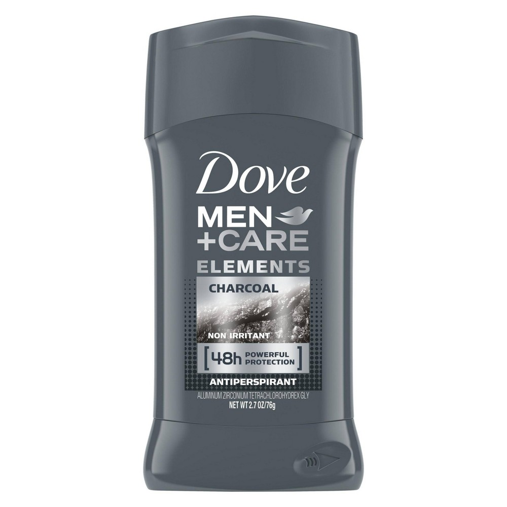 Image of Dove Men + Care Charcoal Antiperspirant & Deodorant - 2.7oz