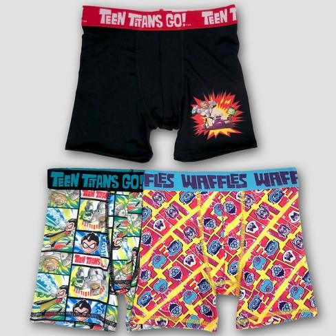 Boys' Teen Titans 3pk Boxer Briefs - image 1 of 1