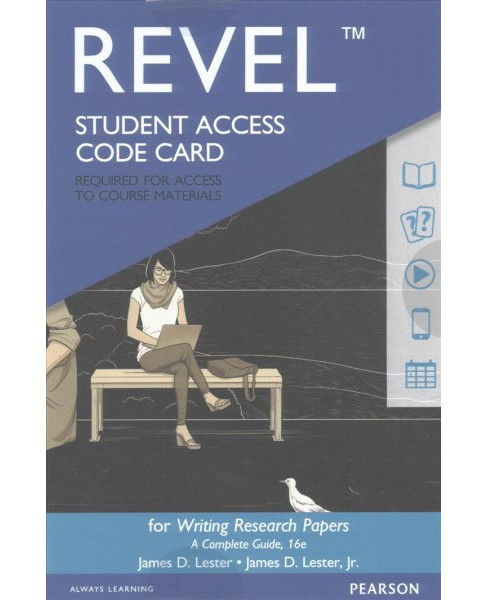 Writing Research Papers Revel Access Card : A Complete Guide -  (Hardcover) - image 1 of 1