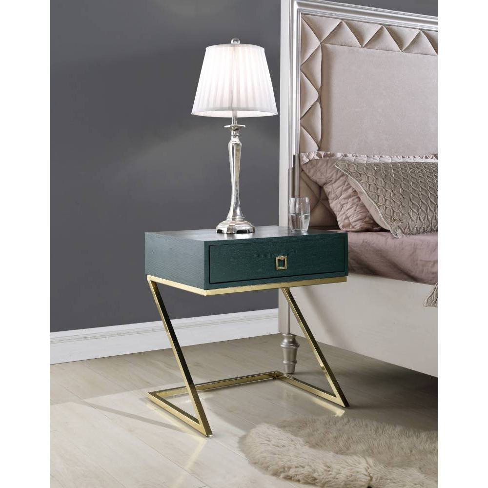 Francisco Side Table Green - Chic Home Design was $289.99 now $173.99 (40.0% off)