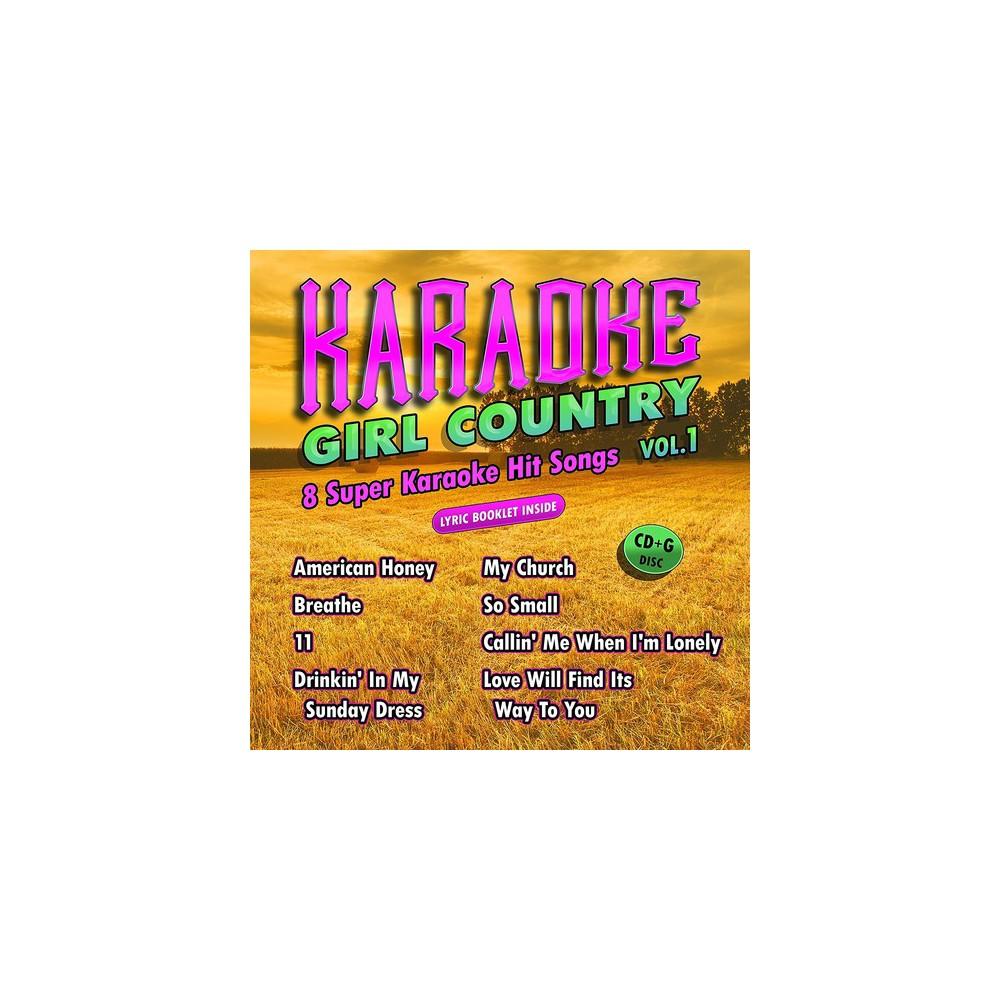 Karaoke Cloud - Girl Country Vol 1 (CD)