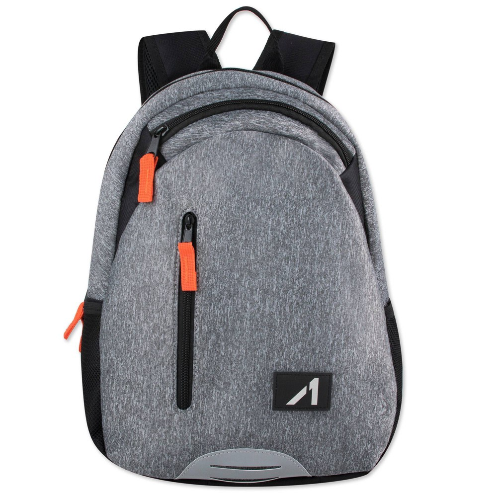 "Image of ""Alive 18"""" Neoprene Backpack - Gray"""