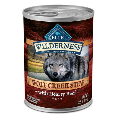 Blue Buffalo Wilderness Wolf Creek Stew Wet Dog Food - 12.5oz