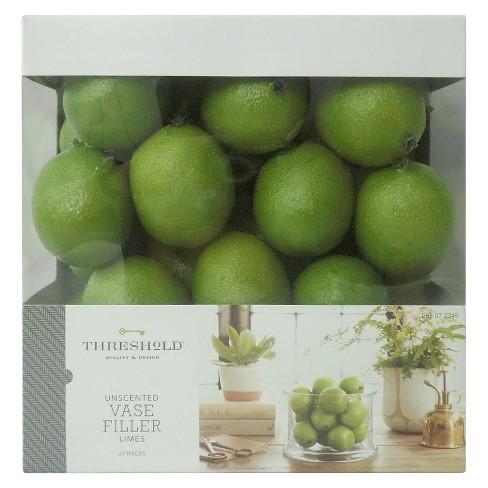 Vase Filler Limes Threshold Target