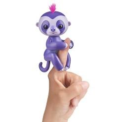 Fingerlings Interactive Sloth - Purple - Marge