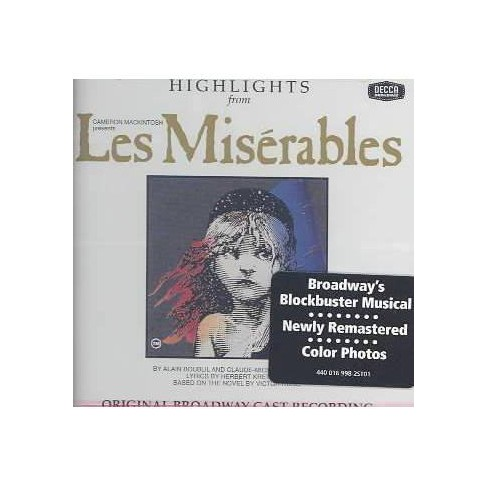 Original Broadway Cast - Les Miserables: Highlights (OCR) (CD) - image 1 of 1