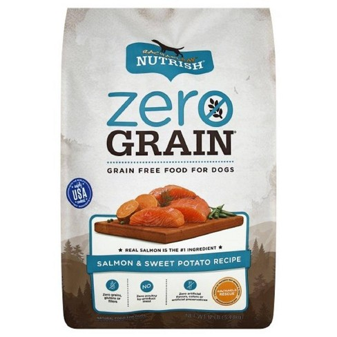 Rachael Ray Nutrish Zero Grain Salmon & Sweet Potato Recipe Dry Dog Food - image 1 of 4