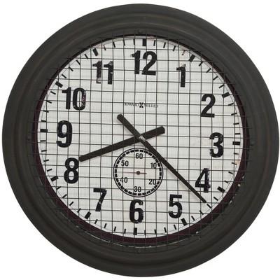 Howard Miller 625625 Howard Miller Grid Iron Works Wall Clock 625625
