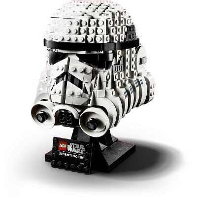 LEGO Star Wars Stormtrooper Helmet Building Kit; Star Wars Collectible for Adults 75276