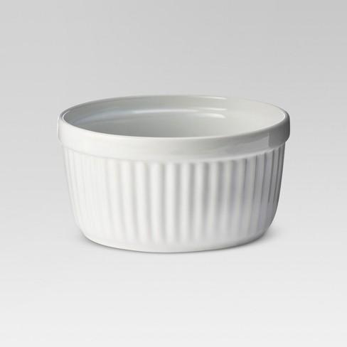14oz Porcelain Ramekin White - Threshold™ - image 1 of 3