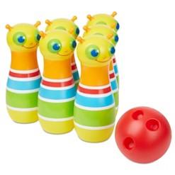 Melissa & Doug Rainbow Caterpillar Bowling Set