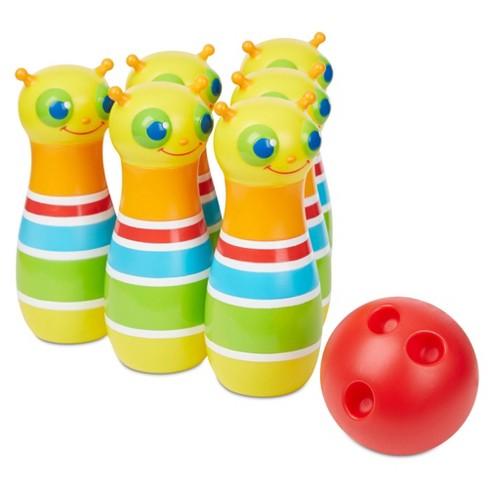 Melissa & Doug Rainbow Caterpillar Bowling Set - image 1 of 4
