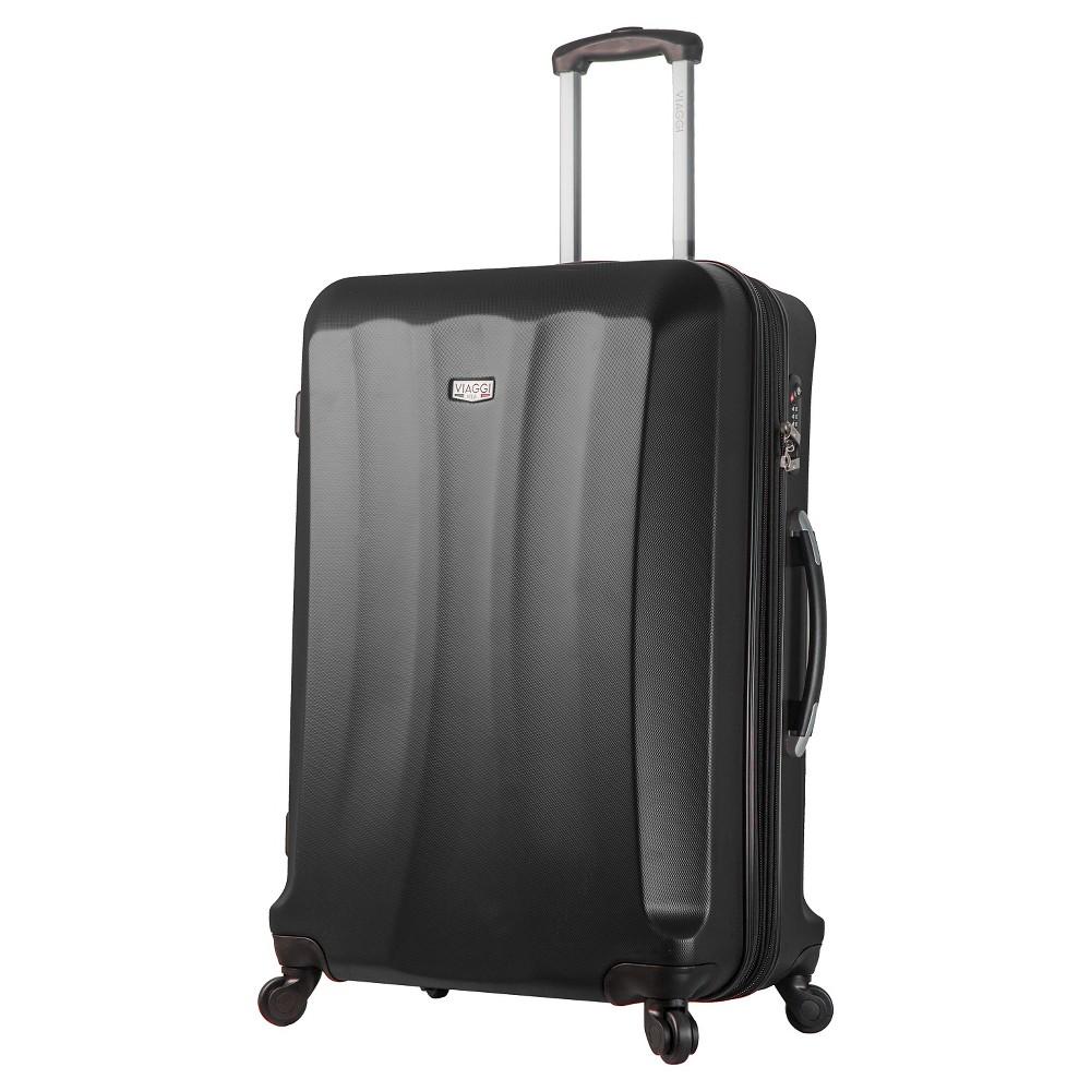 Mia Viaggi Siena 28 Hardside Spinner Suitcase - Black