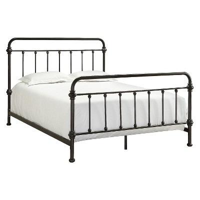Tilden Standard Metal Bed King Bronze - Inspire Q