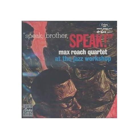 Max Roach - Speak Brother Speak (CD) - image 1 of 1