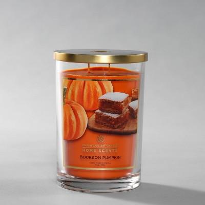 Glass Jar Bourbon Pumpkin Candle - Home Scents