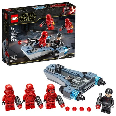 LEGO Star Wars Sith Troopers Battle Pack Stormtrooper Speeder Vehicle Building Kit 75266