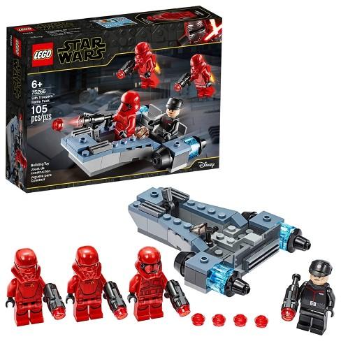 Lego Star Wars Sith Troopers Battle Pack Stormtrooper Speeder Vehicle Building Kit 75266 Target