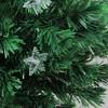 Northlight 4' Prelit Artificial Christmas Tree Fiber Optic with Stars - Multicolor Light - image 2 of 3
