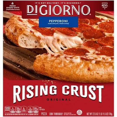 DiGiorno Pepperoni Frozen Pizza with Rising Crust - 27.5oz
