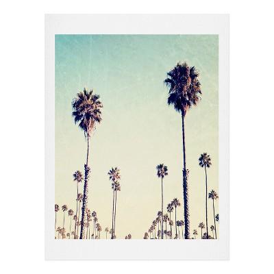 Bree Madden  California Palm Trees Art Print