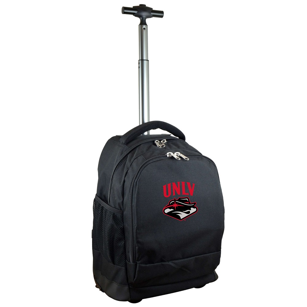 NCAA Unlv Rebels Black Premium Wheeled Backpack