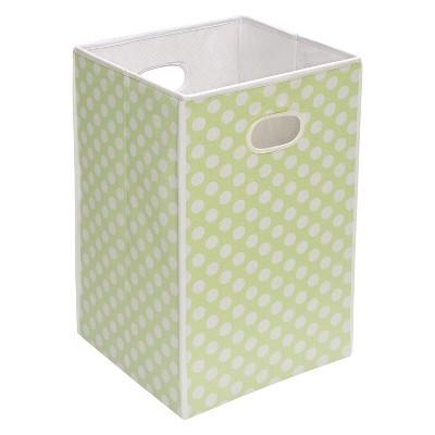 Badger Basket Folding Hamper & Storage Bin - Sage