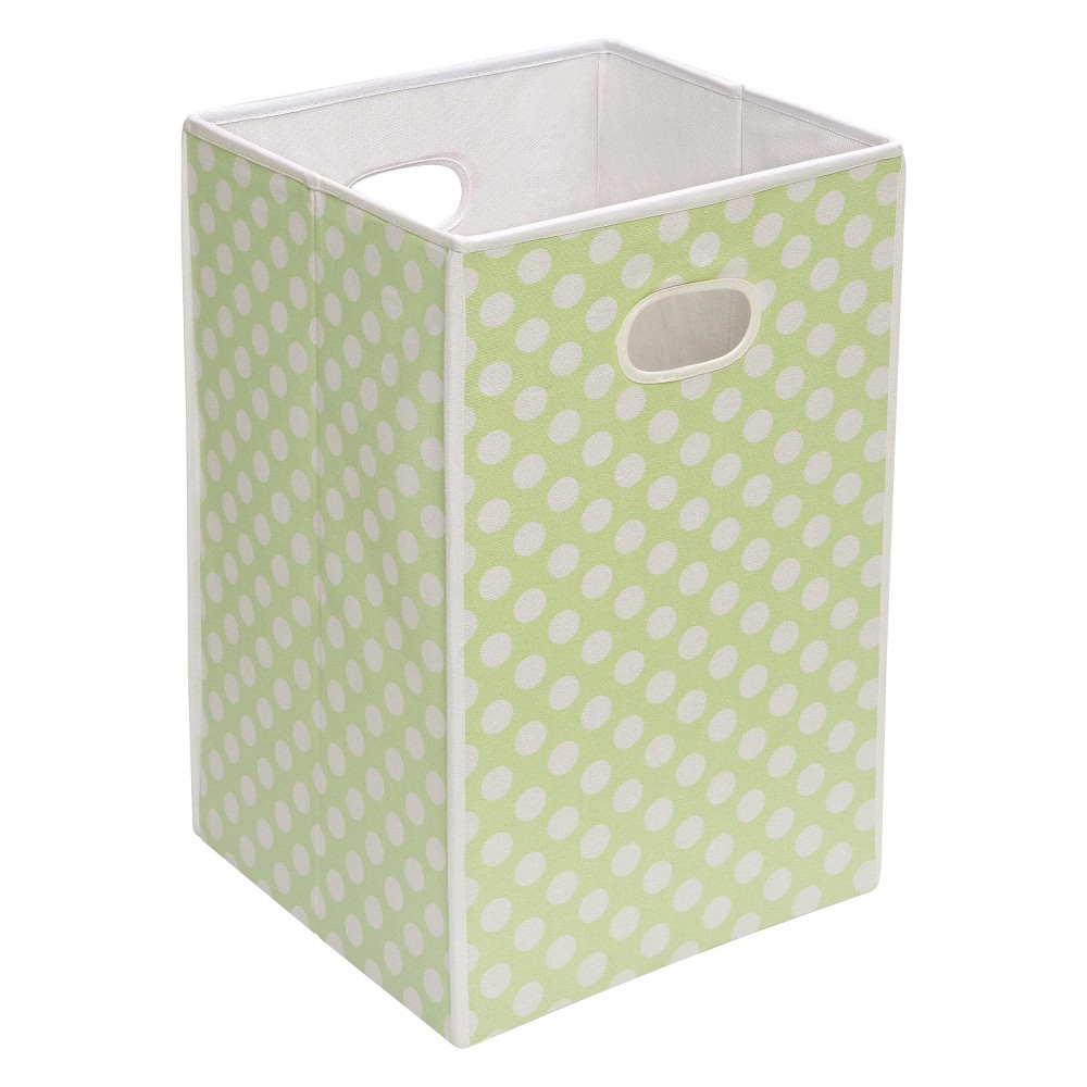 Image of Badger Basket Folding Hamper & Storage Bin - Sage (Green)
