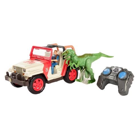 Jurassic World Jeep Wrangler Raptor Attack RC Vehicle - image 1 of 4