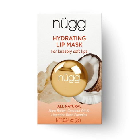 nügg Hydrating Lip Mask - Shea Butter Coconut Oil & Licorice Root -  .24oz - image 1 of 6