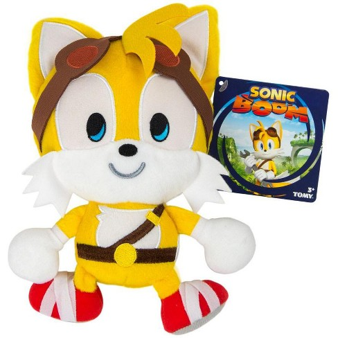 Sonic The Hedgehog Sonic Boom Emoji Tails 8 Inch Plush Happy Target