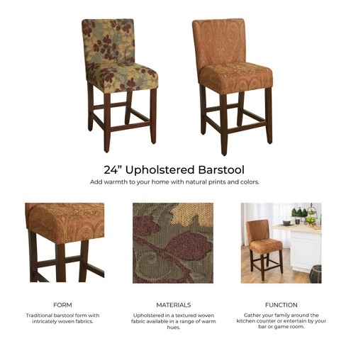 Upholstered 24 Counter Stool Homepop Target