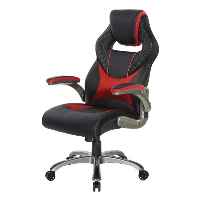 Oversite Gaming Chair In Faux Leather - OSP Home Furnishings
