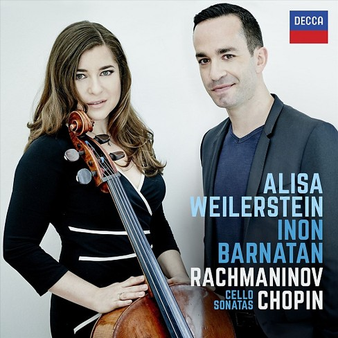 Alisa weilerstein - Chopin & rachmaninov cello sonatas (CD) - image 1 of 1