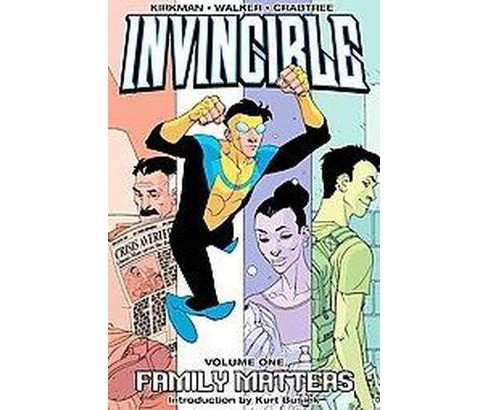 Invincible 1 : Family Matters (Paperback) - image 1 of 1