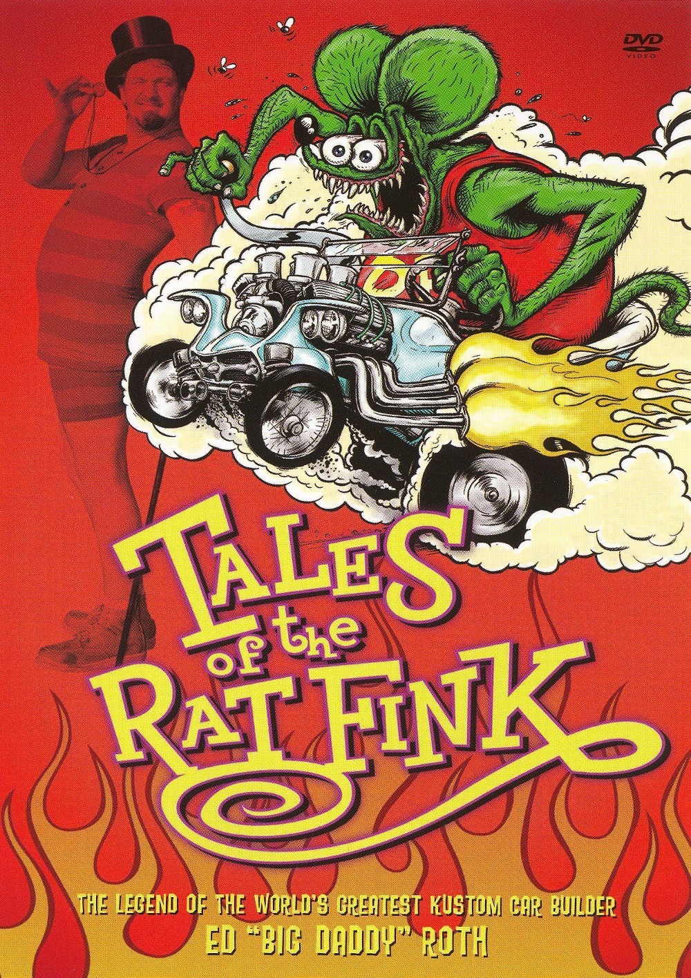 Tales of the rat fink (Dvd)