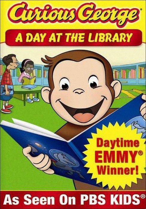 Curious George: A Day at the Library (dvd_video) - image 1 of 1