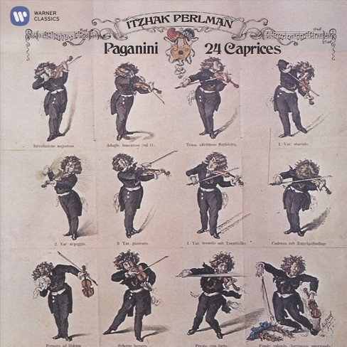 Itzhak perlman - Paganini:24 caprices (CD) - image 1 of 1