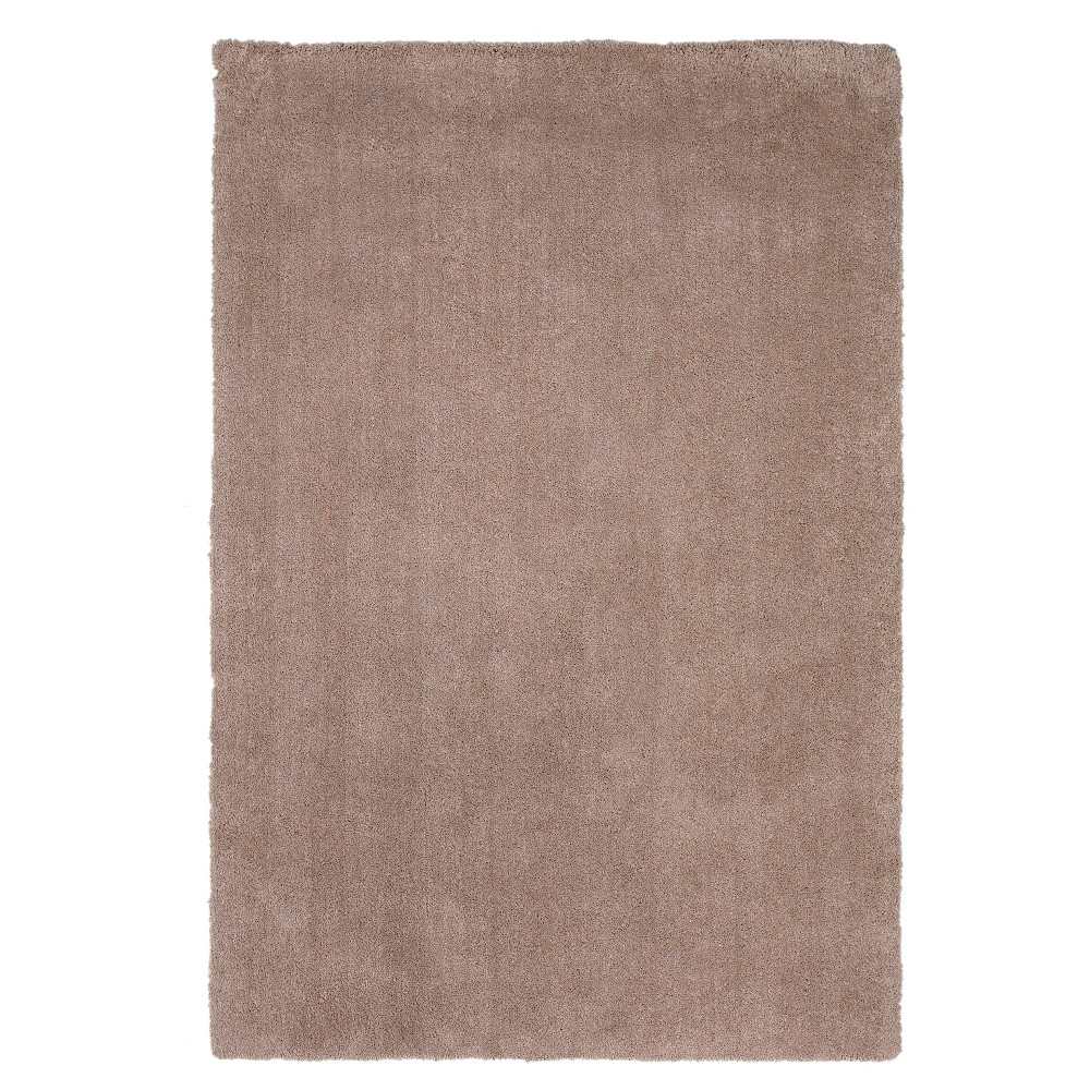 "Image of ""Beige Solid Woven Accent Rug 27""""x45"""" - KAS Rugs"""