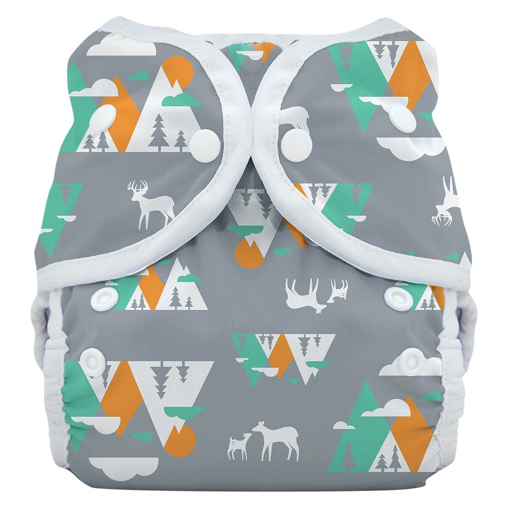 THIRSTIES BABY Snap Duo Wrap, Mountain Range - Size One, ...